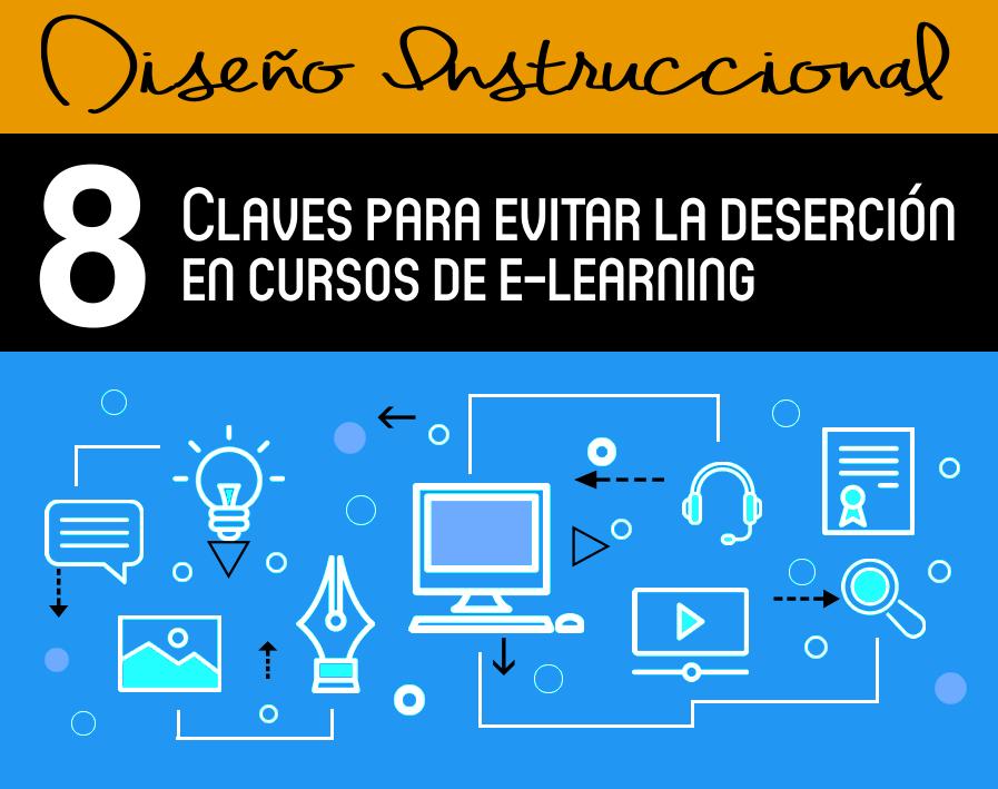 Claves para evitar la deserción en e-learning