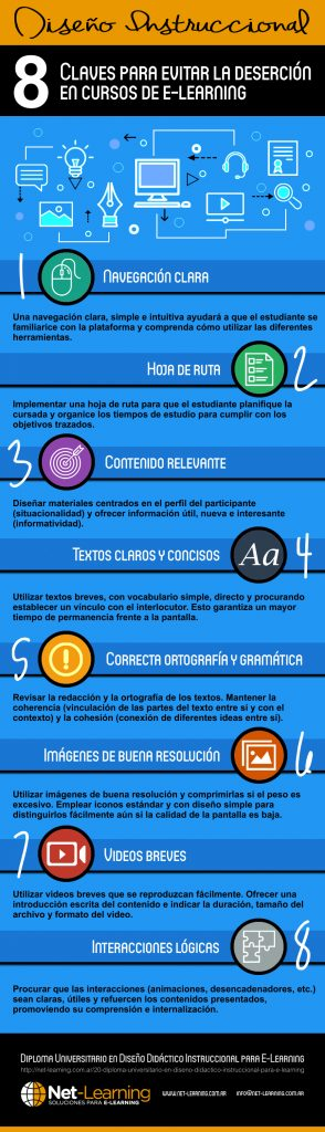 8 claves del diseño instruccional