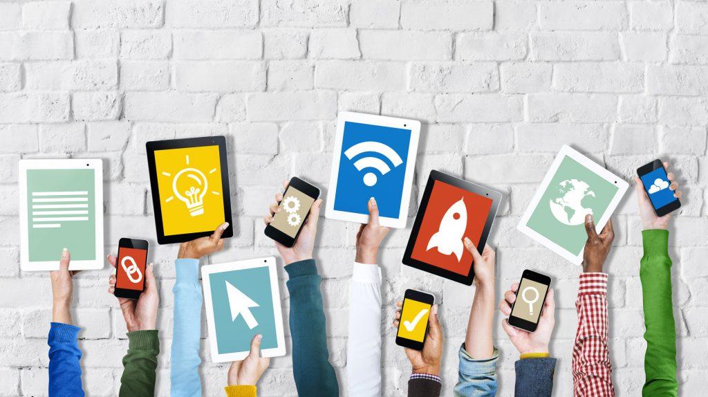 materiales para dispositivos móviles