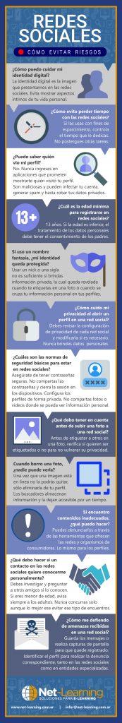Redes sociales cómo evitar riesgos